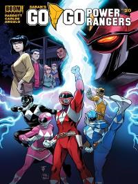 Cover Saban's Go Go Power Rangers, Issue 20