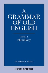 Cover A Grammar of Old English, Volume 1