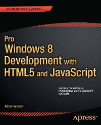 Cover Pro Windows 8 Development with HTML5 and JavaScript