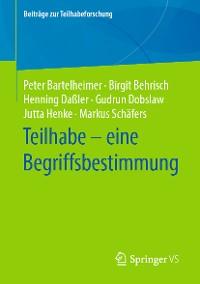 Cover Teilhabe – eine Begriffsbestimmung