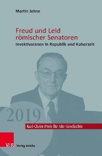 Cover Freud und Leid römischer Senatoren