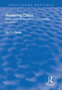 Cover Powering China