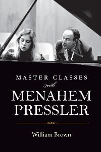 Cover Master Classes with Menahem Pressler
