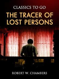 Cover The Tracer of Lost Persons