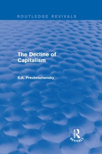 Cover Decline of Capitalism