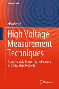 Cover High Voltage Measurement Techniques