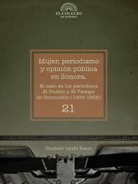 Cover Mujer, periodismo y opinión pública en Sonora