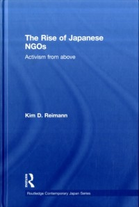 Cover Rise of Japanese NGOs