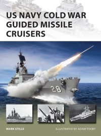 Cover US Navy Cold War Guided Missile Cruisers