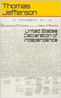Cover United States Declaration of Independence
