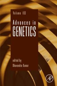 Cover Advances in Genetics