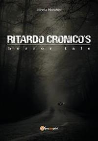 Cover Ritardo Cronico's horror tale