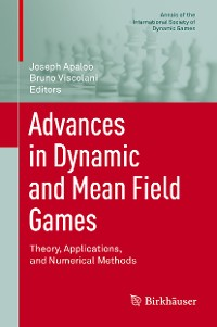 Cover Advances in Dynamic and Mean Field Games