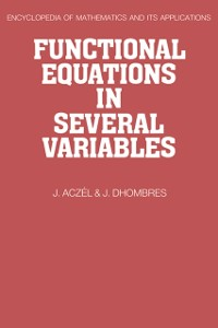 Cover Functional Equations in Several Variables