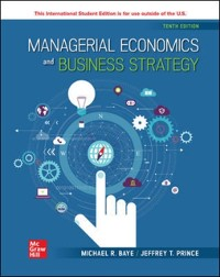 Cover ISE eBook Online Access for Managerial Economics & Business Strategy