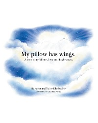 Cover My pillow has wings.