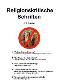 Cover Religionskritische Schriften