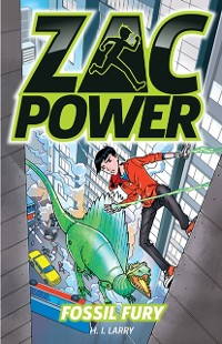 Cover Zac Power Fossil Fury