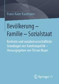 Cover Bevölkerung – Familie – Sozialstaat