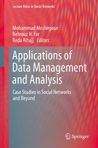 Cover Applications of Data Management and Analysis