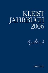Cover Kleist-Jahrbuch 2006