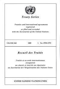 Cover Treaty Series 2568/Recueil des Traités 2568