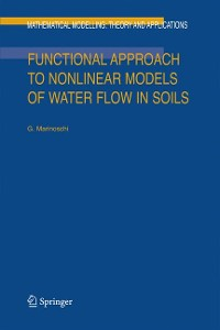 Cover Functional Approach to Nonlinear Models of Water Flow in Soils