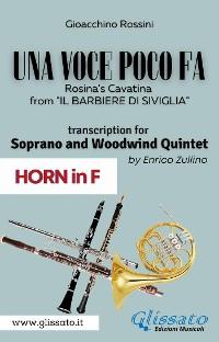 Cover (Horn part) Una voce poco fa - Soprano & Woodwind Quintet