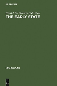 Cover The Early State