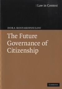Cover Future Governance of Citizenship