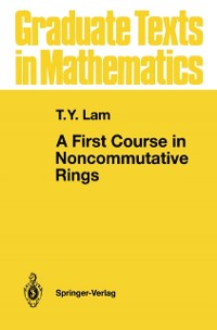 Cover First Course in Noncommutative Rings
