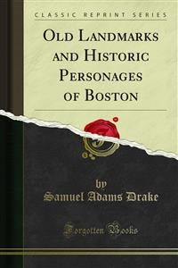 Cover Old Landmarks and Historic Personages of Boston