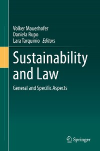 Cover Sustainability and Law