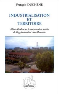 Cover Industrialisation et territoire: rhone-p
