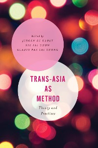 Cover Trans-Asia as Method