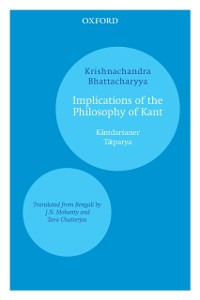 Cover Implications of the Philosophy of Kant