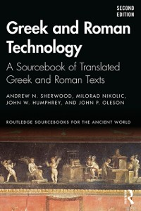 Cover Greek and Roman Technology