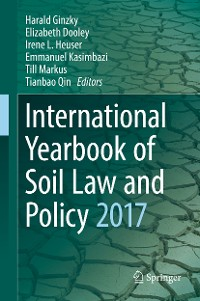 Cover International Yearbook of Soil Law and Policy 2017