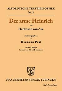 Cover Der arme Heinrich