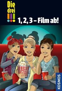 Cover Die drei !!!, 1, 2, 3 - Film ab! (drei Ausrufezeichen)