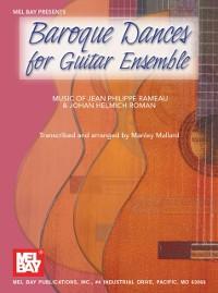 Cover Baroque Dances for Guitar Ensemble