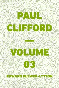 Cover Paul Clifford - Volume 03