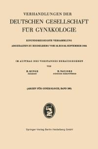 Cover Einunddreissigste Versammlung Abgehalten zu Heidelberg vom 18. bis 22. September 1956