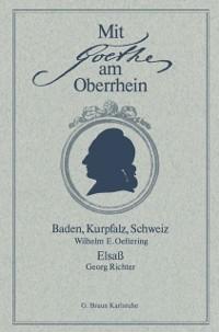 Cover Mit Goethe am Oberrhein