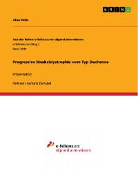 Cover Progressive Muskeldystrophie vom Typ Duchenne