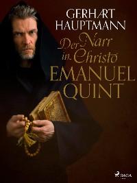 Cover Der Narr in Christo Emanuel Quint