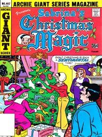 Cover Sabrina's Christmas Magic (2014), Issue 7