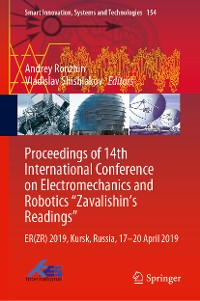 "Cover Proceedings of 14th International Conference on Electromechanics and Robotics ""Zavalishin's Readings"""