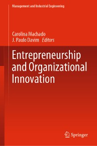Cover Entrepreneurship and Organizational Innovation