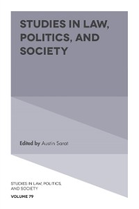 Cover Studies in Law, Politics, and Society